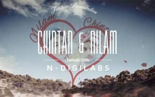 NDIGILABS | Nilam and Chintan's Cinematic Wedding Intro