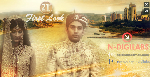 NDIGILABS | Mariam and Zahid's First Look
